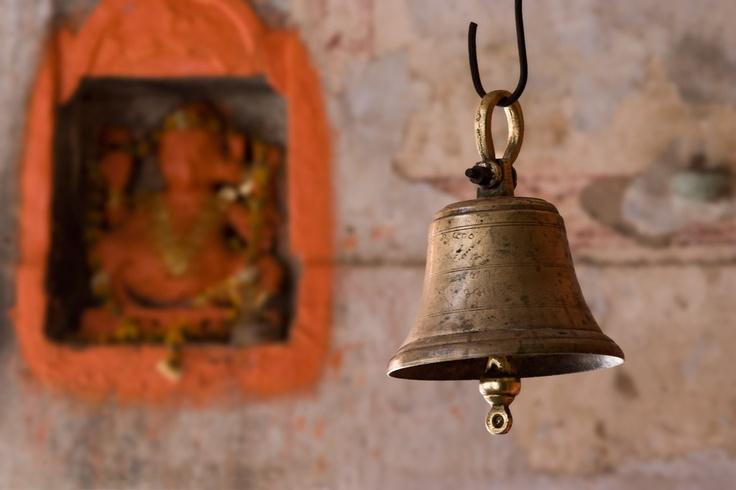 vintage temple bells