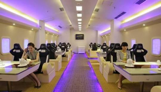 airplane theme restaurant