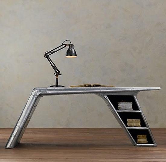 airplane desk