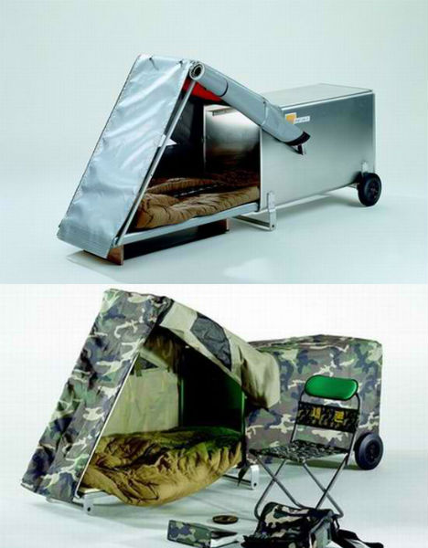 Portable Homeless Shelters Design : Homelessness found in his pocket